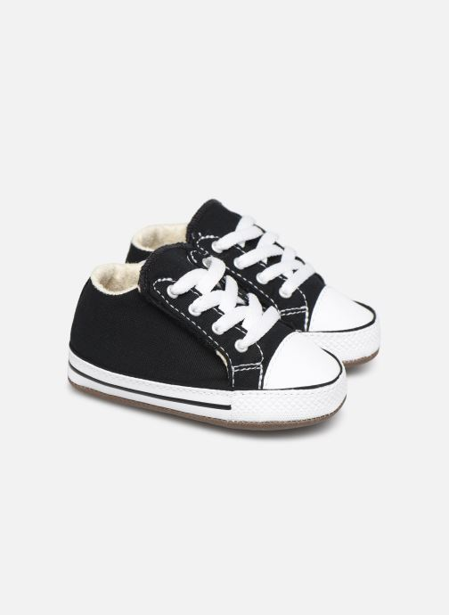 Baskets Converse Chuck Taylor All Star Cribster Canvas Mid Noir vue détail/paire