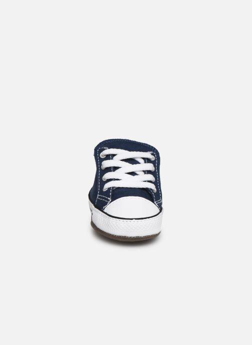 Baskets Converse Chuck Taylor All Star Cribster Canvas Mid Bleu vue portées chaussures