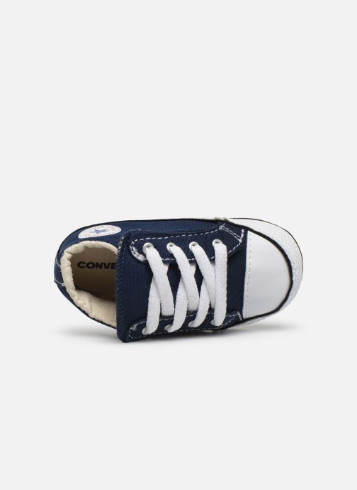Deportivas Converse Chuck Taylor All Star Cribster Canvas Mid Azul vista lateral izquierda