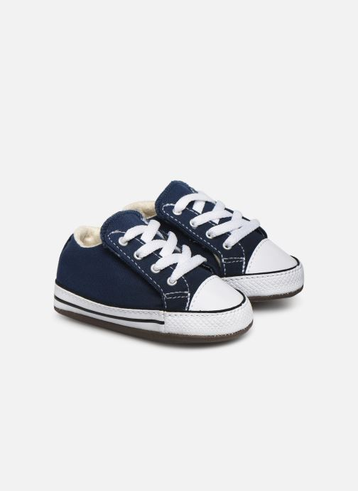 Sneakers Converse Chuck Taylor All Star Cribster Canvas Mid Blå detaljeret billede af skoene