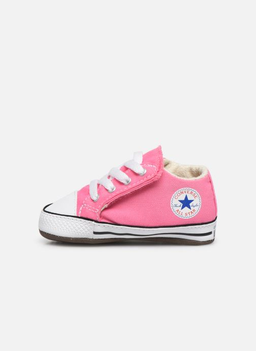 Sneakers Converse Chuck Taylor All Star Cribster Canvas Mid Roze voorkant