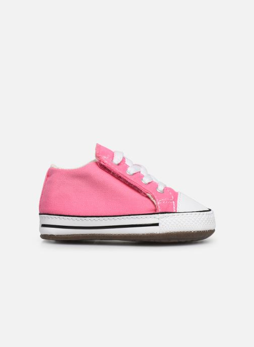 Baskets Converse Chuck Taylor All Star Cribster Canvas Mid Rose vue derrière