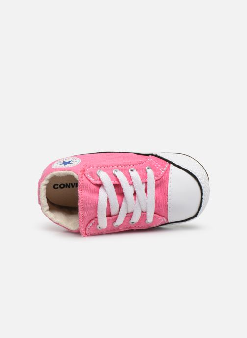 Baskets Converse Chuck Taylor All Star Cribster Canvas Mid Rose vue gauche