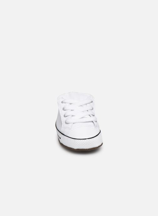 Baskets Converse Chuck Taylor All Star Cribster Canvas Mid Blanc vue portées chaussures
