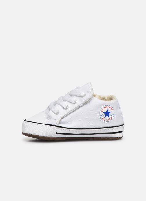 Baskets Converse Chuck Taylor All Star Cribster Canvas Mid Blanc vue face