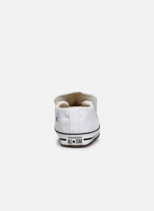 Sneakers Converse Chuck Taylor All Star Cribster Canvas Mid Wit rechts