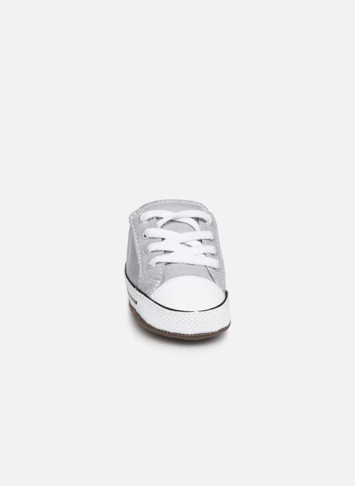 Sneaker Converse Chuck Taylor All Star Cribster Canvas Mid grau schuhe getragen