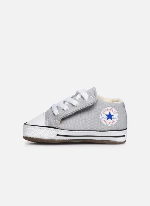 Sneaker Converse Chuck Taylor All Star Cribster Canvas Mid grau ansicht von vorne