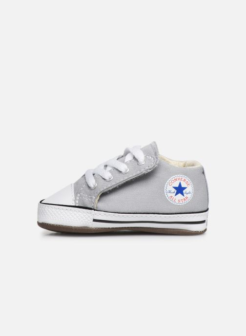 Sneakers Converse Chuck Taylor All Star Cribster Canvas Mid Grijs voorkant