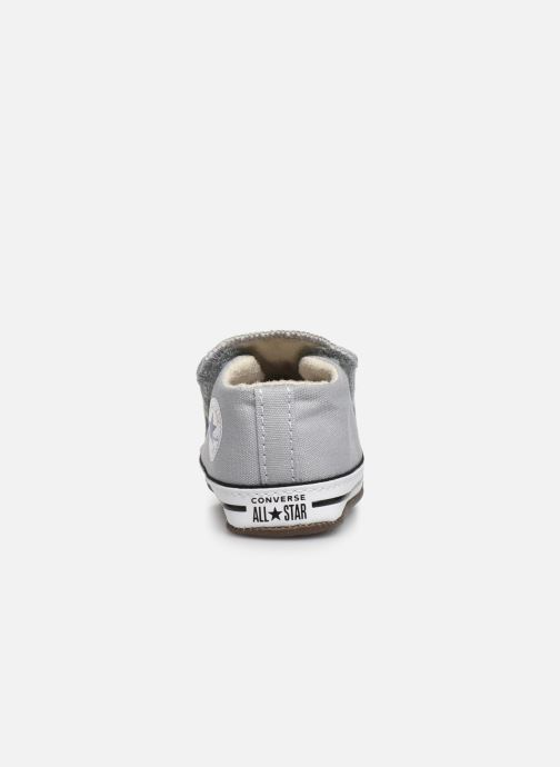 Sneaker Converse Chuck Taylor All Star Cribster Canvas Mid grau ansicht von rechts