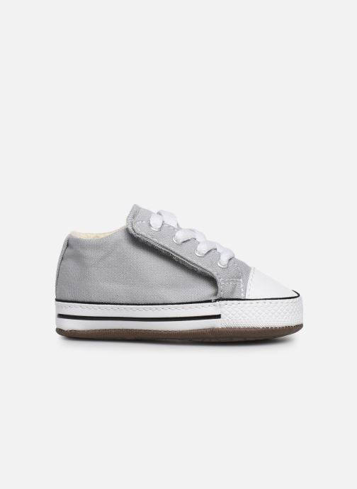 Sneaker Converse Chuck Taylor All Star Cribster Canvas Mid grau ansicht von hinten