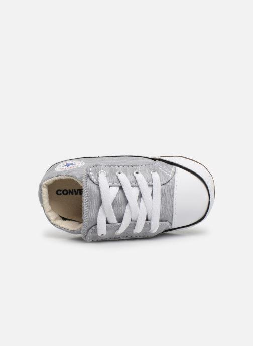 Sneaker Converse Chuck Taylor All Star Cribster Canvas Mid grau ansicht von links