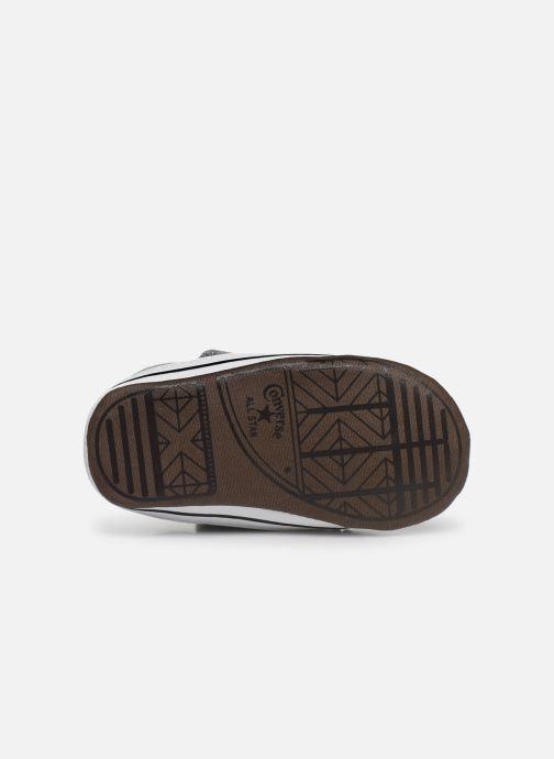 Sneaker Converse Chuck Taylor All Star Cribster Canvas Mid grau ansicht von oben