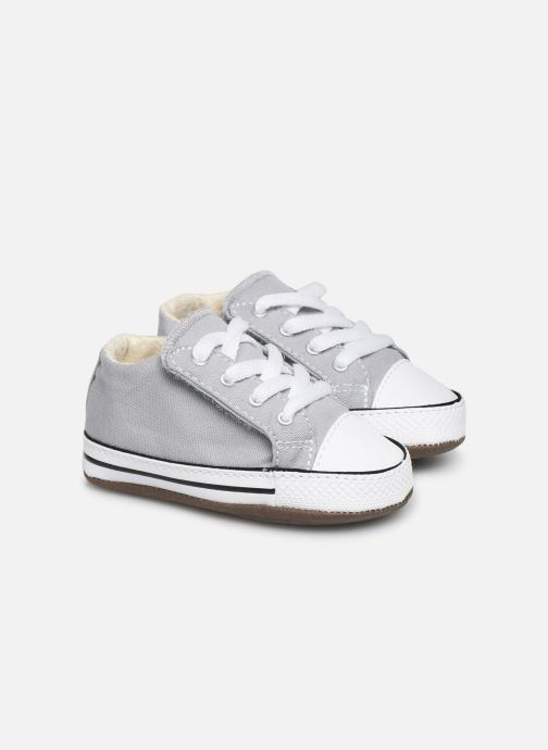 Baskets Converse Chuck Taylor All Star Cribster Canvas Mid Gris vue détail/paire