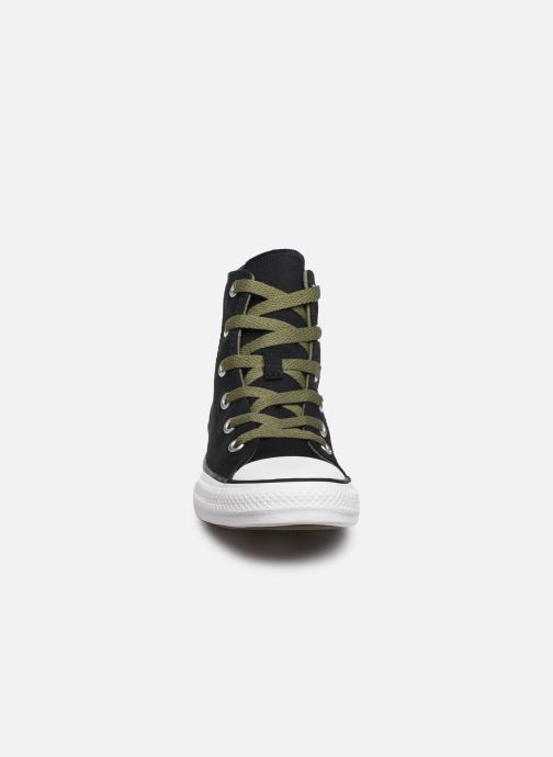 Trainers Converse Chuck Taylor All Star Dino Spikes Hi Black model view