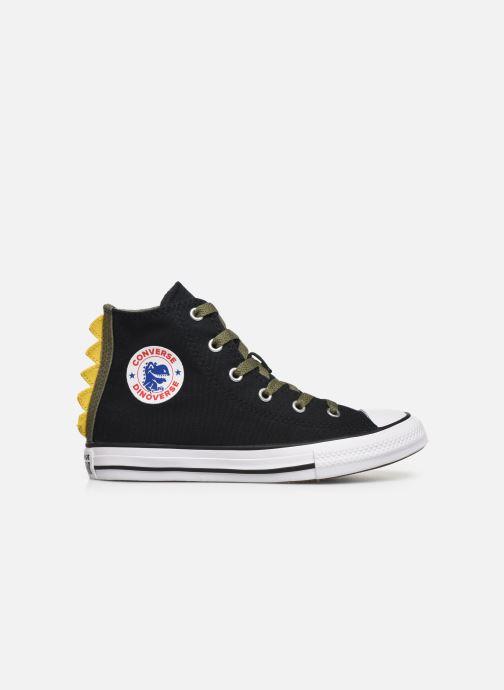 Trainers Converse Chuck Taylor All Star Dino Spikes Hi Black back view