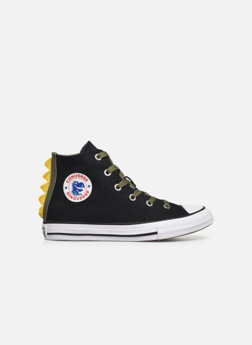Sneaker Converse Chuck Taylor All Star Dino Spikes Hi schwarz ansicht von hinten