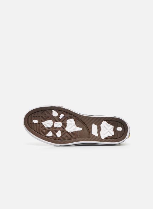 Sneaker Converse Chuck Taylor All Star Dino Spikes Hi schwarz ansicht von oben