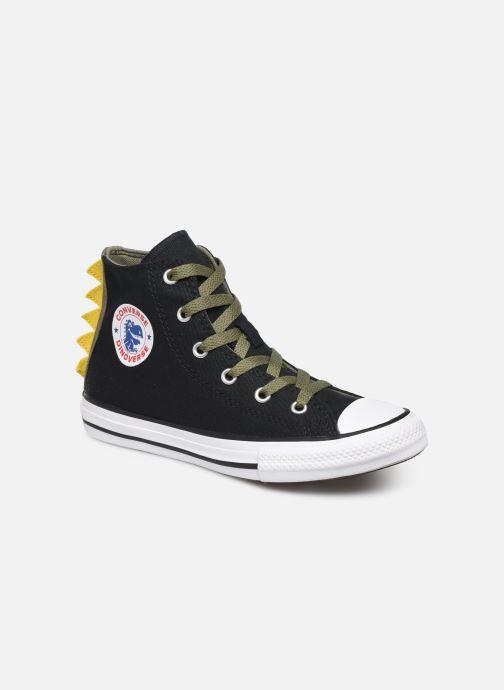 Sneakers Converse Chuck Taylor All Star Dino Spikes Hi Zwart detail