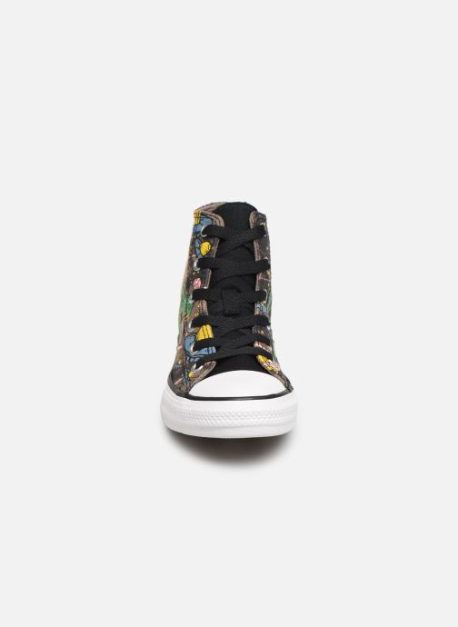 Baskets Converse Chuck Taylor All Star Interstellar Dino'S Hi Multicolore vue portées chaussures