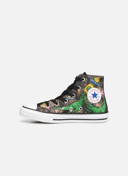Baskets Converse Chuck Taylor All Star Interstellar Dino'S Hi Multicolore vue face