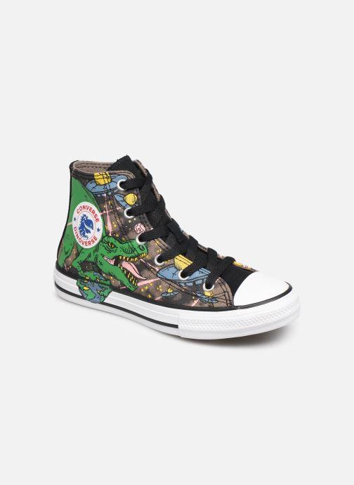Baskets Converse Chuck Taylor All Star Interstellar Dino'S Hi Multicolore vue détail/paire