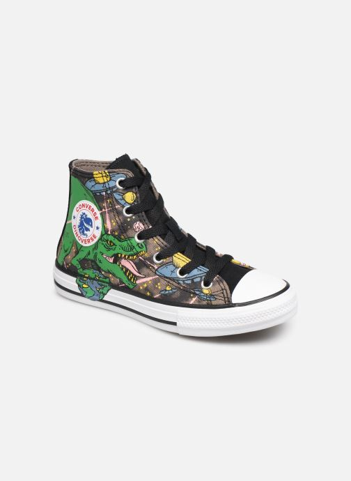 Baskets Converse Chuck Taylor All Star Interstellar Dino'S Hi Multicolore vue détail/paire