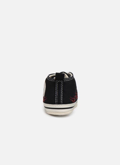 Baskets Converse Chuck Taylor First Star Hi Noir vue droite