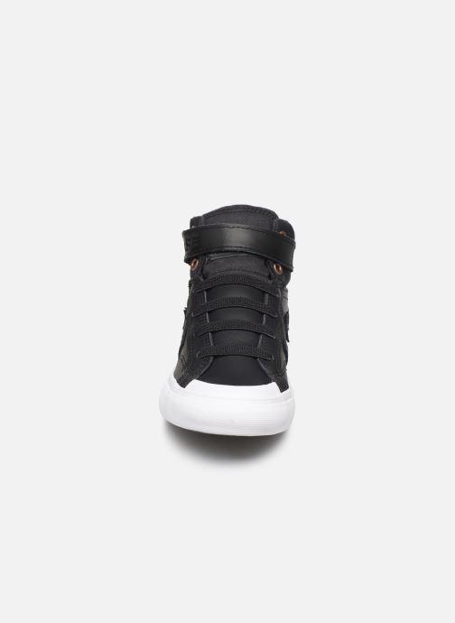 Baskets Converse Pro Blaze Strap Martian Hi J Noir vue portées chaussures