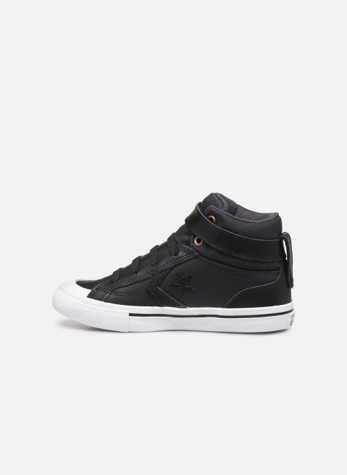 Sneakers Converse Pro Blaze Strap Martian Hi J Zwart voorkant