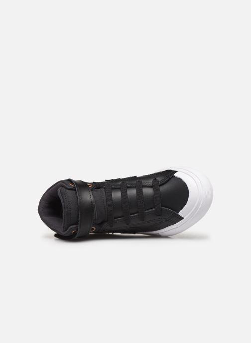 Sneaker Converse Pro Blaze Strap Martian Hi J schwarz ansicht von links