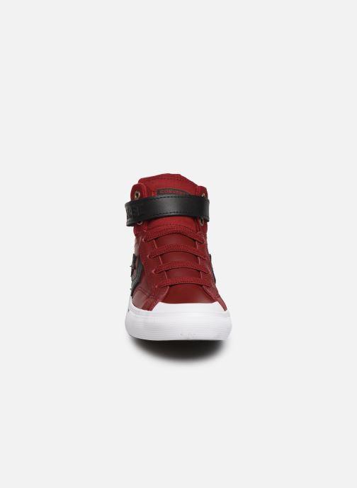 Sneakers Converse Pro Blaze Strap Martian Hi J Rosso modello indossato