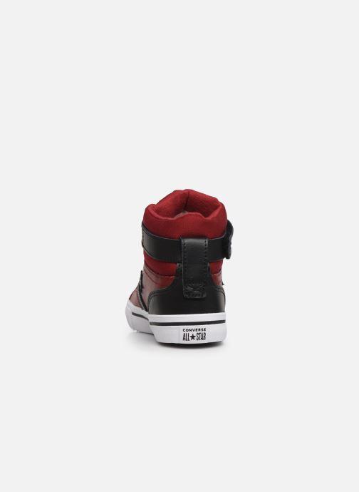Baskets Converse Pro Blaze Strap Martian Hi J Rouge vue droite