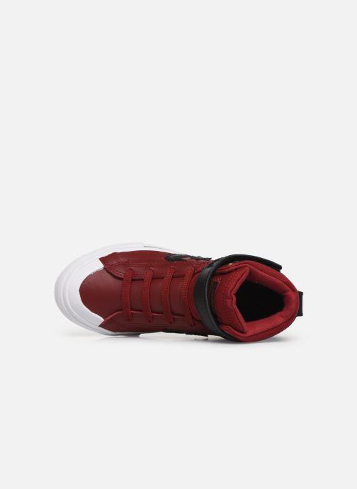 Baskets Converse Pro Blaze Strap Martian Hi J Rouge vue gauche