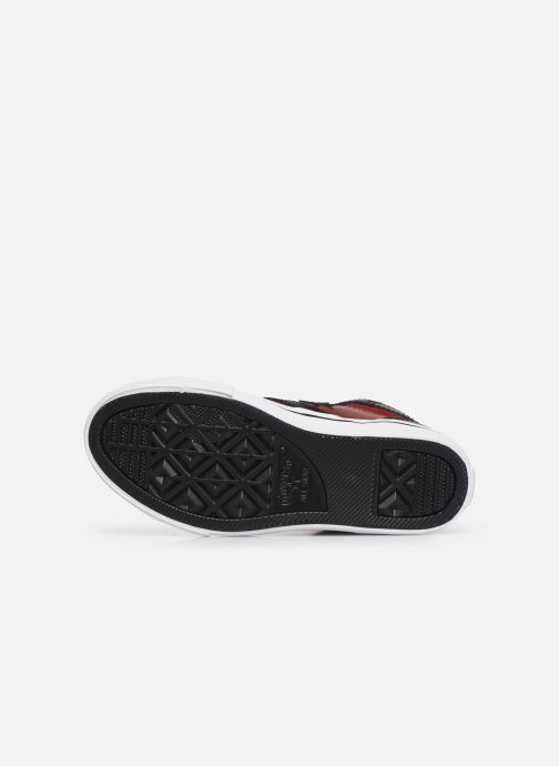 Sneakers Converse Pro Blaze Strap Martian Hi J Röd bild från ovan