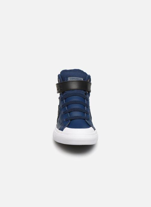 Baskets Converse Pro Blaze Strap Martian Hi J Bleu vue portées chaussures