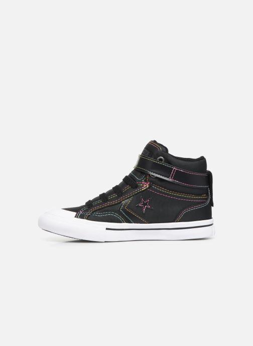 Sneakers Converse Pro Blaze Strap Rainbow Stitch Hi J Nero immagine frontale