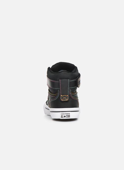 Sneakers Converse Pro Blaze Strap Rainbow Stitch Hi J Nero immagine destra