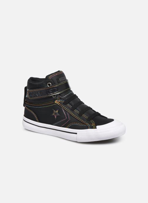Baskets Converse Pro Blaze Strap Rainbow Stitch Hi J Noir vue détail/paire