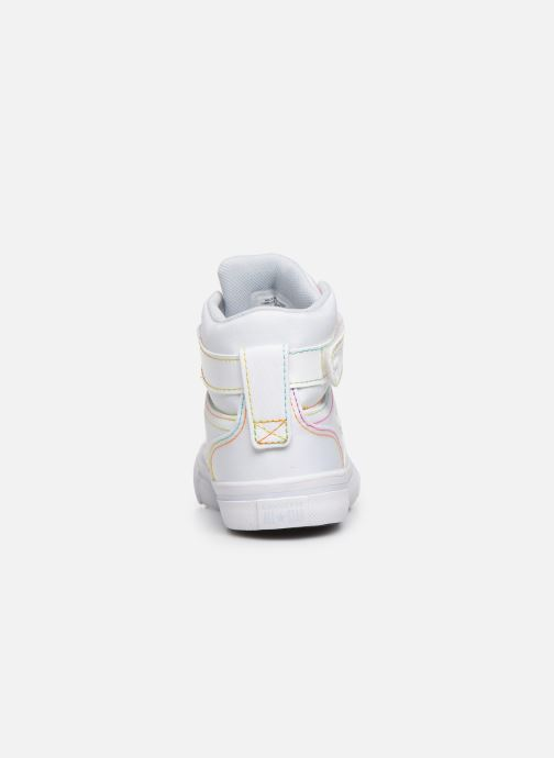Sneakers Converse Pro Blaze Strap Rainbow Stitch Hi J Wit rechts