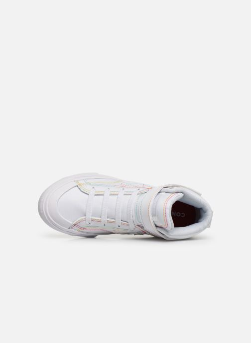 Sneakers Converse Pro Blaze Strap Rainbow Stitch Hi J Wit links