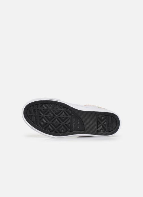 Sneakers Converse Pro Blaze Strap Rainbow Stitch Hi J Wit boven