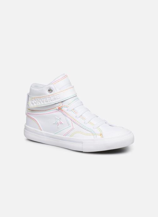 Baskets Converse Pro Blaze Strap Rainbow Stitch Hi J Blanc vue détail/paire