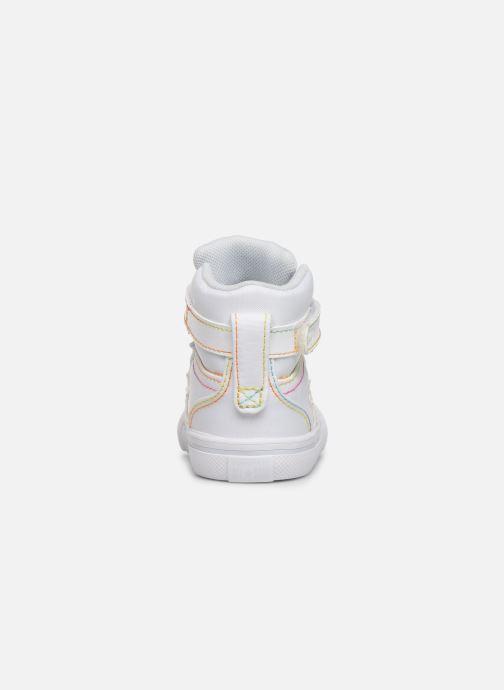 Baskets Converse Pro Blaze Strap Rainbow Stitch Hi E Blanc vue droite