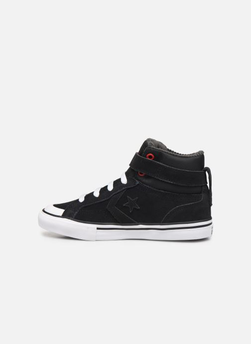 Sneakers Converse Pro Blaze Strap Space Ride Hi J Zwart voorkant