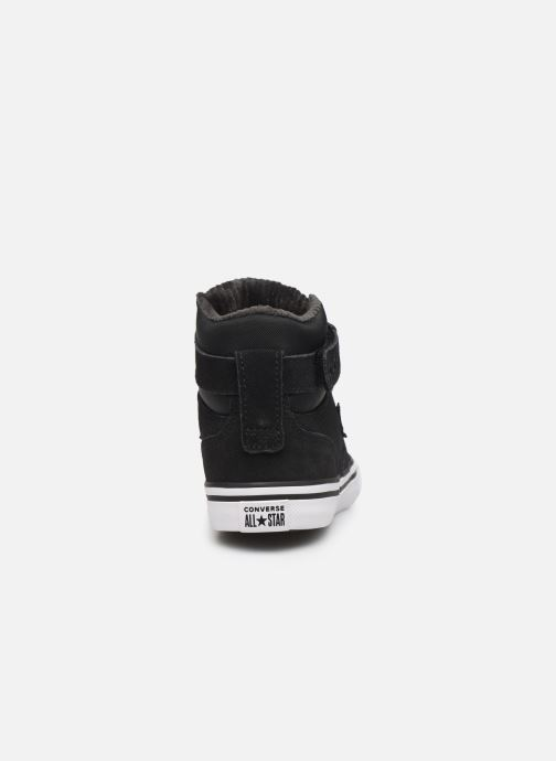 Trainers Converse Pro Blaze Strap Space Ride Hi J Black view from the right