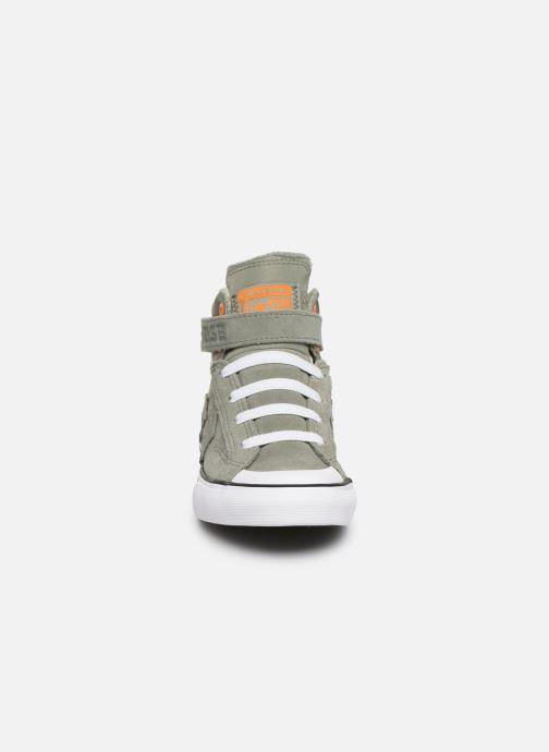 Sneaker Converse Pro Blaze Strap Space Ride Hi J grün schuhe getragen