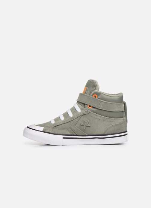 Trainers Converse Pro Blaze Strap Space Ride Hi J Green front view
