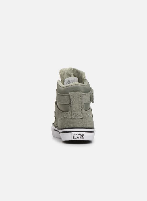 Trainers Converse Pro Blaze Strap Space Ride Hi J Green view from the right