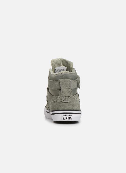 Sneaker Converse Pro Blaze Strap Space Ride Hi J grün ansicht von rechts